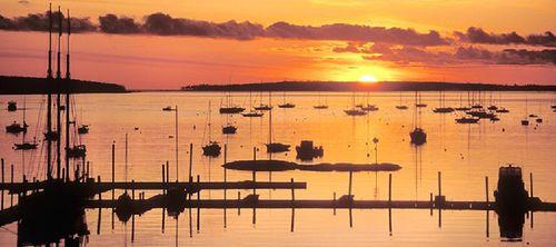 Southwest Harbor Maine Sunrise 1020px