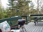 Bass Harbor Maine Treehouse 3 Deck
