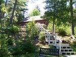 Seal Cove Maine Pine Bluff Front View