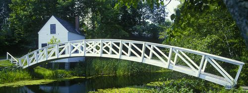 Footbridge in Somesville Maine