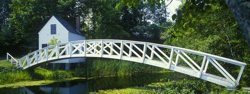 Footbridge in Somesville Maine