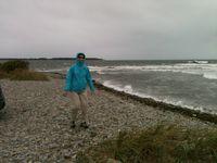 Anne Welles Standing Her Seawall 700x525