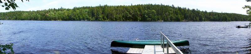 Hodgdon Pond Seal Cove Maine Wide Angle
