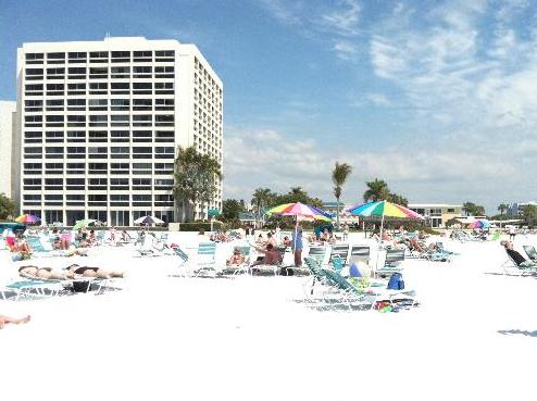 Palm Bay Club View from Shore 2 Siesta Key Florida