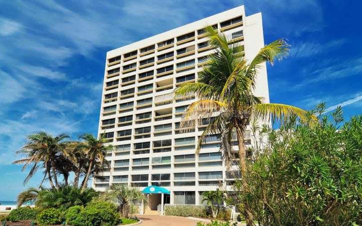Palm Bay Club Building View Siesta Key Florida