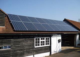 South Facing Roof at Maine Coastal Solar