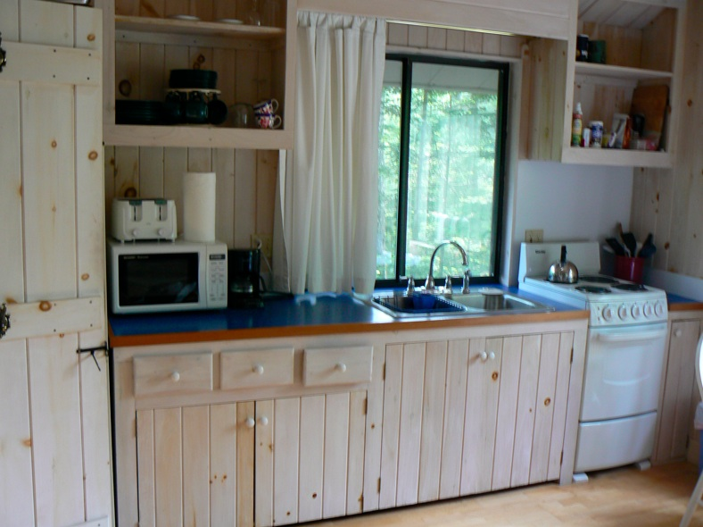 The Kitchen at the Boathouse Hodgdon Pond Seal Cove Maine