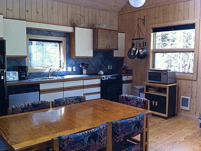 Pine Bluff Hodgdon Pond Seal Cove Maine Kitchen
