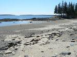 Back Beach Bernard Maine