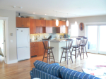 Seashore Cottage Manset Maine Ann's Point Cottages Kitchen And Dining Area