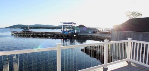 Anns Point Cottages Bass Harbor Maine Seashore VT Still