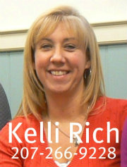 Kelli Rich at Margo Stanley Real Estate with Caption 180x237