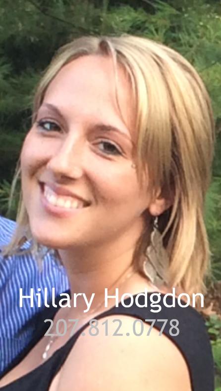 Hilary Hodgdon Portrait with Captions