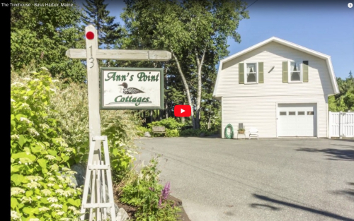 Anns Point Cottages Bass Harbor Maine Treehouse VT