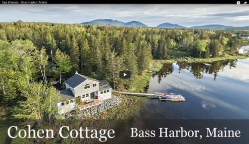 Anns Point Cottages Bass Harbor Maine SeaBreezes VT Still