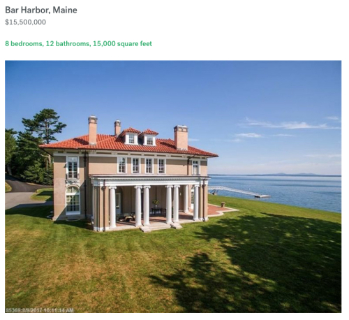 Priciest Home in Maine 11012018