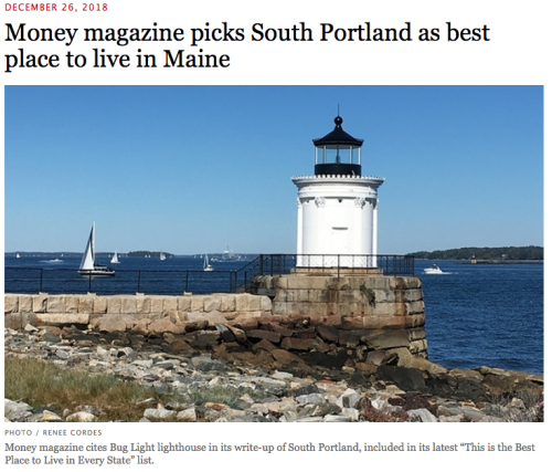 Money Magazine Picks SoPo as Best Place to Live in Maine